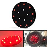 Areyourshop Spare Tire LED Lamp Wheel Rear Brake Decoration Light For Jeep JK Wrangler 07-17