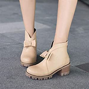 Amazon.com: Boots for Women, Autumn and Winter Thick with