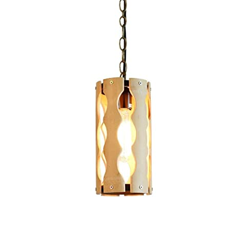 Oliwia Araña de iluminación Los bambúes Antiguos creativos ...