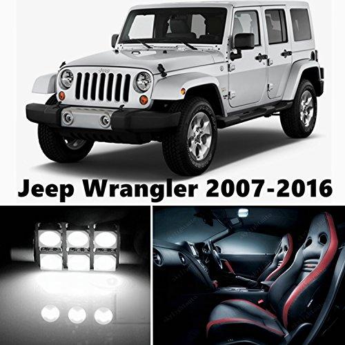 Premium Xenon JK Jeep Wrangler LED White Interior Lighting Kit