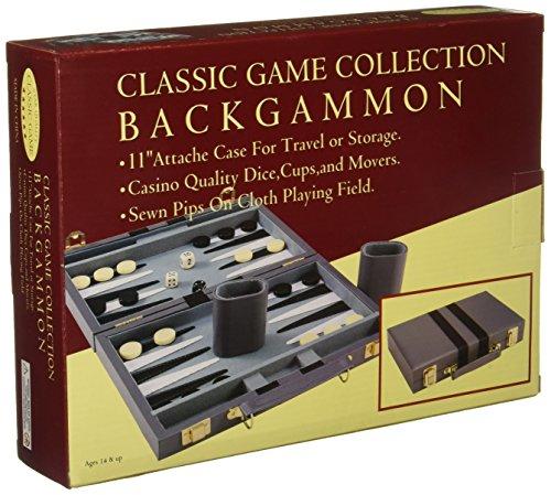 (John N. Hansen 11-Inch Backgammon Attache)