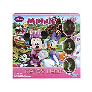 Candy Land Game Disney Minnie Mouse
