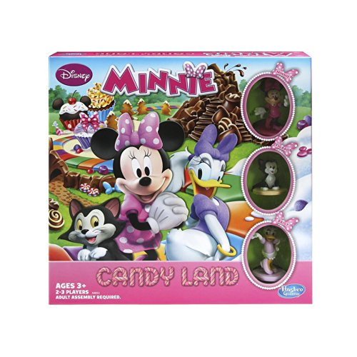 Candyland Character Costumes (Candy Land Game Disney Minnie Mouse's Sweet Treats Edition)
