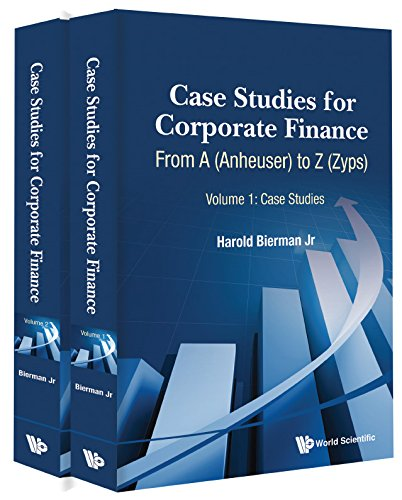 corporate finance warf computers mini case solution This is solutions manual for corporate finance: a focused approach 5th edition ehrhardt brigham the package downloadable complete solutions manual, answers for chapters, build a model solutions, mini case excel models are included.