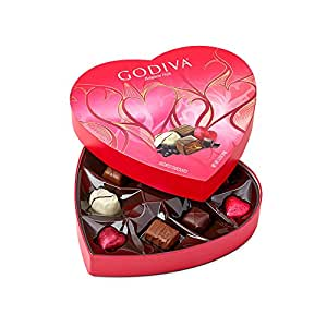 Amazon Com Godiva Chocolatier 9 Piece Valentine S Day