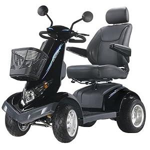 """Aviator All Terrain 4 Wheel Electric Power Scooter Warranty: 1-Year-In-Home Labor Warranty, Seat Size: 22"""""""