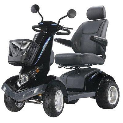 "Aviator All Terrain 4 Wheel Electric Power Scooter Warranty: None, Seat Size: 22"""