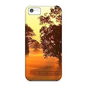For Iphone/ 6 plus (5.5) - Lscape At Morning Dusk Unique iphone Durable Iphone Cases case cover yueya's case