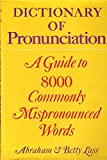 img - for Dictionary of Pronunciation book / textbook / text book