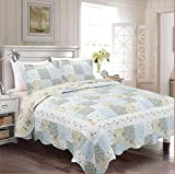 Best Fancy Linen Home Collection Bed Skirts - Fancy Collection 3pc Bedspread Bed Cover Floral Off Review