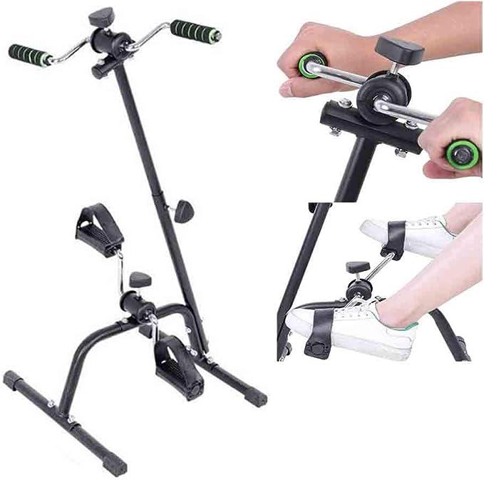 WXH Mini Bicicleta estática, ejercitador de Pedal portátil ...