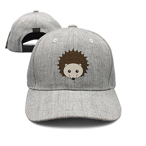 - SJSNBZ Hedgehog Cotton Unisex Adult Mens Wool Golf Hat
