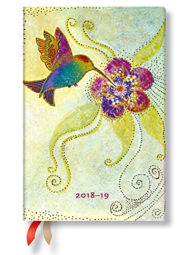 Mini 18 Month Day Planner 2018-2019 by Paperblanks (Hummingbird)