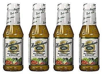 Hendricksons Dressing Original Sweet Vinegar and Olive Oil 16 fl oz (Salad Vinegar)