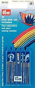 Prym 125110 - Juego de 25 agujas para coser a mano