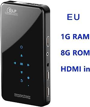 Rstant X2 Talla del teléfono Mini HD proyector WiFi DLP Smart AC3 ...