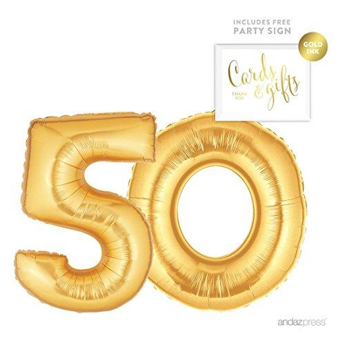 50 birthday numbers - 7