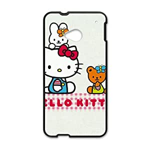 Happy Hello kitty Phone Case for HTC One M7 case