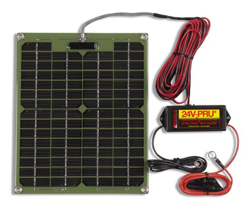 24 Volt Solar Battery Charger - 8