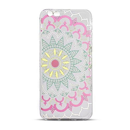 "Hülle MANDALA 2 Für Apple iPhone 7 4,7"" Apple iPhone 7 Silikonhülle Case Cover Handy Tasche TPU Silikon Hülle"