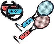 Bundle: Racing Wheel Blk/Tennis Racket
