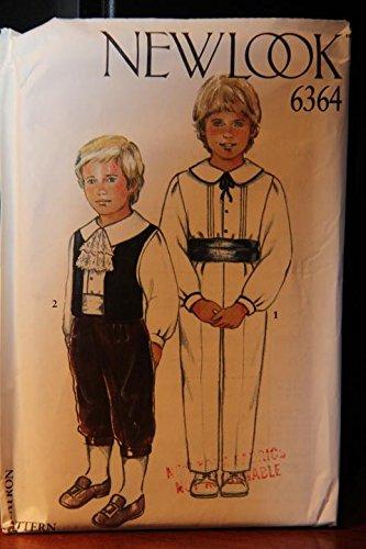 New Cummerbund - New Look Pattern 6364 / Seven Sizes In One / Shirt, Waistcoat, Trousers, Trousers With Cuff, Cummerbund