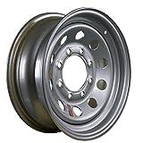 Arcwheel Silver Modular Steel Trailer Wheel – 16'' x 6'' Rim - 8 on 6.5 3,750lb Capacity