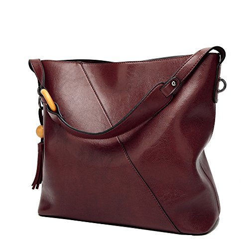 - Obosoyo Women Shoulder Tote Satchel Bag Lady Messenger Purse Top Handle Hobo Handbags Coffee