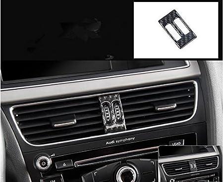 Marco de fibra de carbono para decoració n interior de Audi, A4, S4, A5, S5, 2009-2016, LHD LVBAO