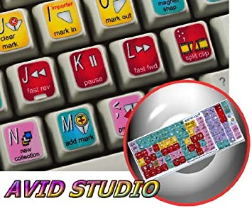 Motu New Color Keyboard Shortcut Sticker