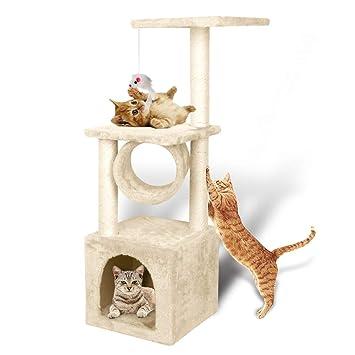 Amazon.com: YOHOZ – Árbol de gato para escalada, diseño de ...