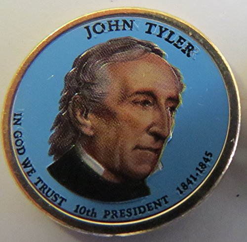 2009 Various Mint Marks Tyler Presidential Colorized Dollar Choice Uncirculated