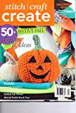 Stitch Craft CREATE Magazine. 50+ Projects & Ideas. Halloween Issue. 2012.