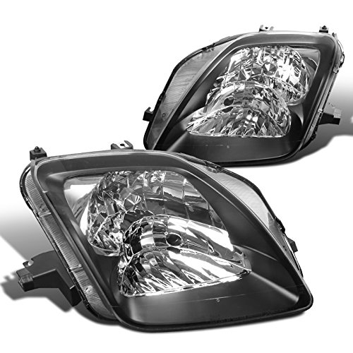 - Spec-D Tuning LH-PL97JM-ABM Black Headlight (Euro)