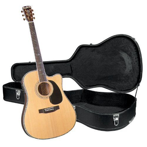 Blueridge BR-70CE Contemporary Series Cutaway Acoustic-Electric Dreadnought Guitar with Hardshell Case