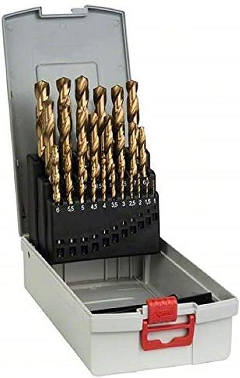 5 mm Set de 10 brocas de taladro para metales de aleaci/ón TTP