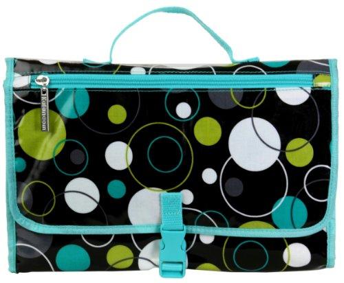 Kalencom Hoopla Dots - Set de bolso cambiador, diseño de lunares