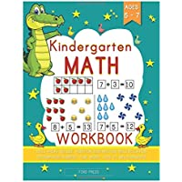 Kindergarten Math Workbook: Kindergarten and 1st Grade Workbook Age 5 - 7 - Early Reading and Writing, Numbers 0-20, Addition and Subtraction Activities Worksheets (Homeschooling Activity Books 1)