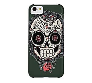 Muerte Acecha iPhone 5c Black leather jacket Barely There Phone Case