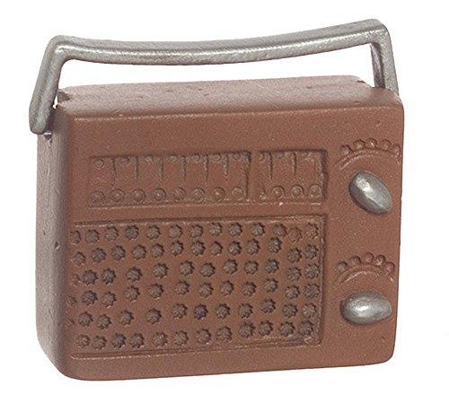 Dollhouse Miniature Radio - Radio Miniature