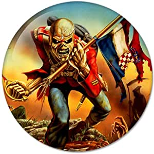 Iron Maiden #7 Music Collection Bottle Opener Round Button Badges With Refrigerator Magnet, NEW 2.25 Inch (58mm)