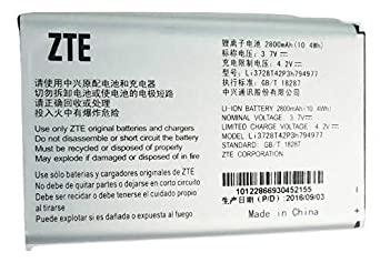 Amazon.com: Original Standard Battery for ZTE MF923 Velocity Mobile Hotspot 2800mAh Li3728T42P3h794977: Cell Phones & Accessories