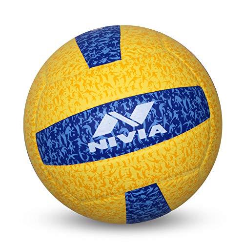 Nivia G 20 20 Volleyball  Yellow/Blue