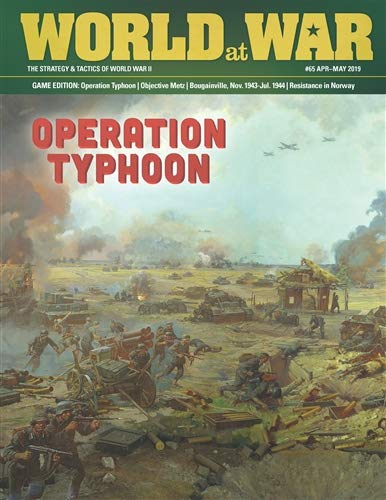 DG: World at War Magazine #65, with Operation Typhoon Boardgame