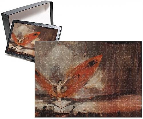 Photo Jigsaw Puzzle of The Red Moth by William Barribal