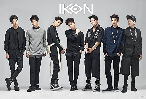 iKON Korean Boy Band Kpop Wall Decoration Poster (#002)