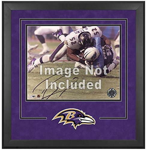 Baltimore Ravens Deluxe 16x20 Horizontal Photograph Frame by Mounted Memories