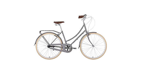 BOBBIN Birdie Bicicleta Urbana, Mujer, Gris (Mushroom), 40: Amazon.es: Deportes y aire libre