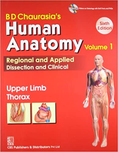 Bd Chaurasias Human Anatomy Vol 1 Upper Limb Thorax B D