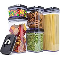 5-Piece Royal Air-Tight Food Storage Durable Plastic Container Set